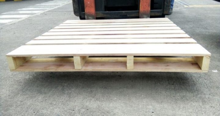 Pallet Kayu ISPM # 15  Uk. 120 x 100 x 14 cm Type 2 Way