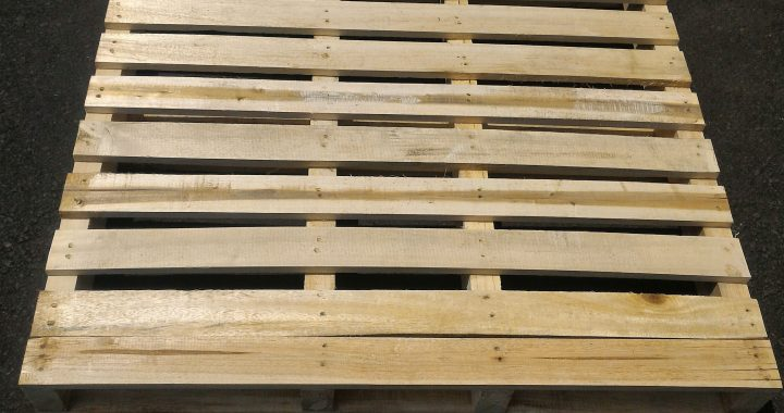 Pallet Kayu ISPM  2 Way  Uk. 115 x 115 x 14 cm