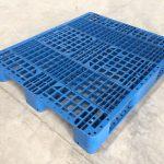 Pallet Plastik Uk. 120 x 100 x 14 cm / Type M / Jaring